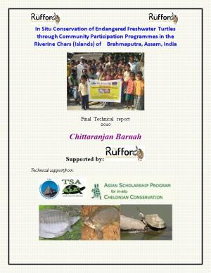 In Situ Conservation of Endangered Freshwater Turtles Through Community Participation Programmes