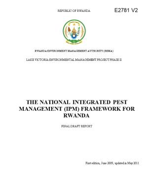 Integrated Pest Management in the Lake Victoria Basin in Rwanda