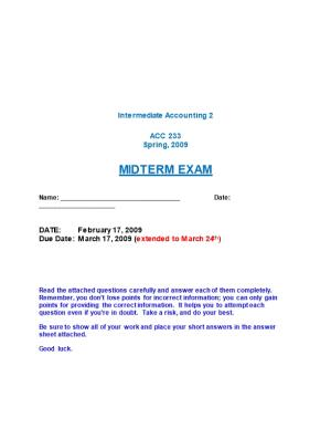 Intermediate Accounting 2