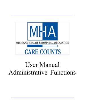 Introduction to MHA Care Counts