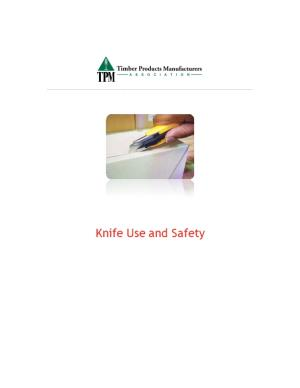 Knife Use and Safety