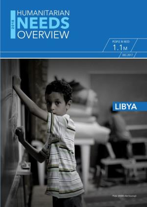 Libya Humanitarian Overview