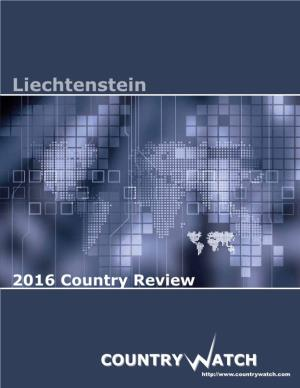 Liechtenstein 2016 Country Review