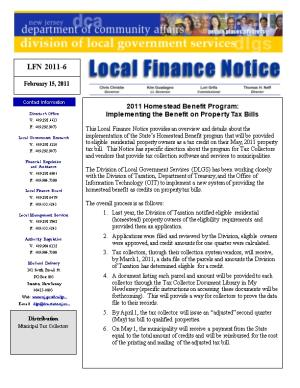 Local Finance Notice 2010-9March 26, 2010Page 1