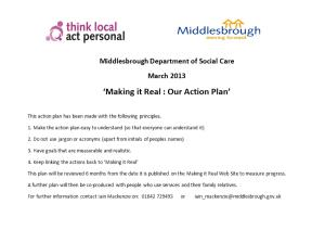 Middlesbrough Department of Social Care