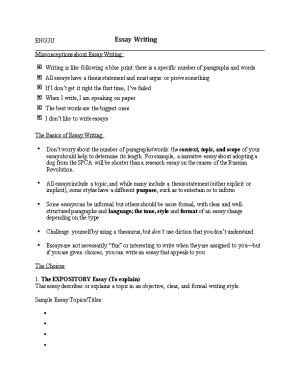 Misconceptions About Essay Writing