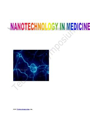 Nanotechnology Is Engineering and Manufacturing at the Molecular Scale, Thereby Taking