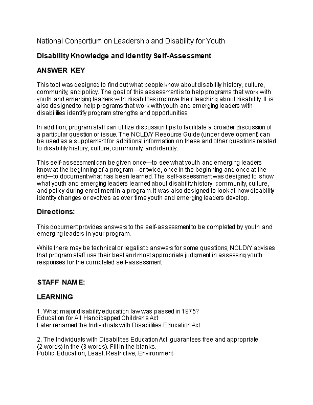 National Consortium on Leadership and Disability for Youth