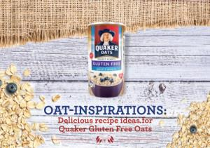 OAT-INSPIRATIONS: Delicious Recipe Ideas for Quaker Gluten Free Oats