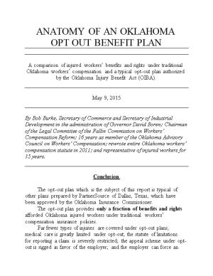 Opt out Benefit Plan