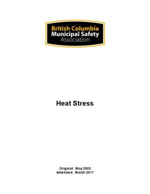Organization Heat Stress Program