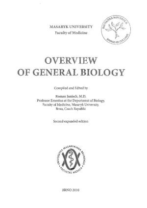 Overview of General Biology