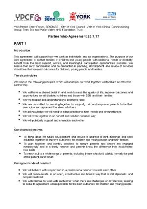 Partnership Agreement 25.7.17