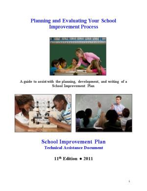 Planning and Evaluating Your School Improvement Process