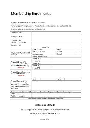 Please Complete This Form and Return It, by Post To