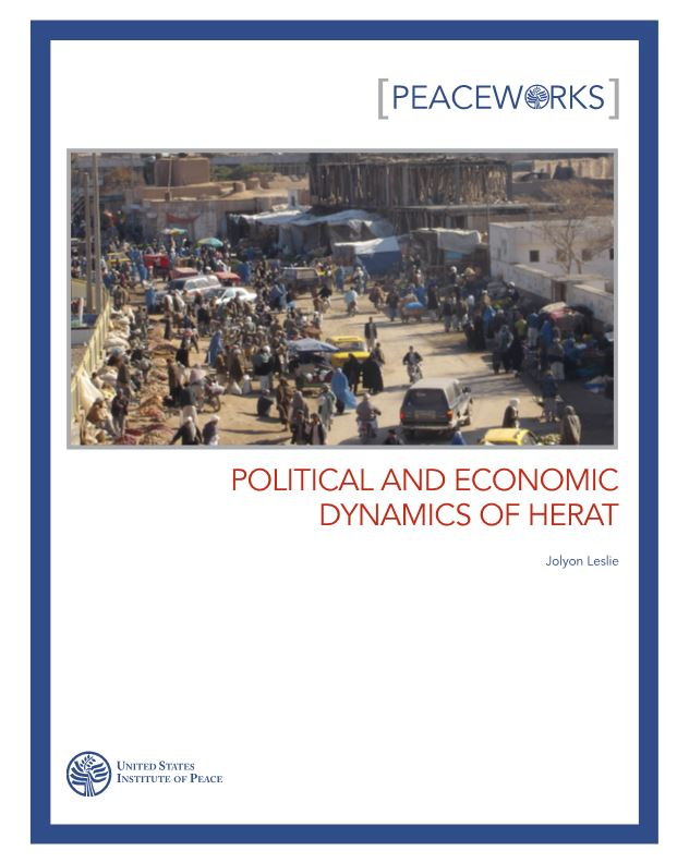 Political and Economic Dynamics of Herat