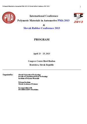 Polymeric Materials in Automotive Pma 2005