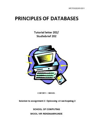 Principles of Databases