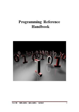 Programming Reference