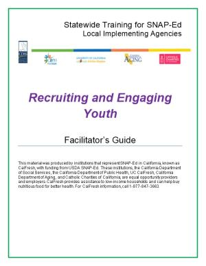 Recruiting and Engaging Youth