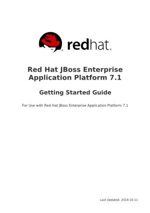 Red Hat Jboss Enterprise Application Platform 7.1