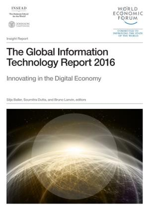 Report(PDF): The Global Information Technology Report 2016