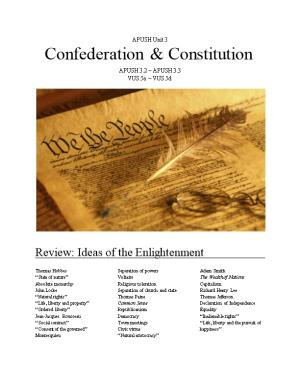 Review: Ideas of the Enlightenment