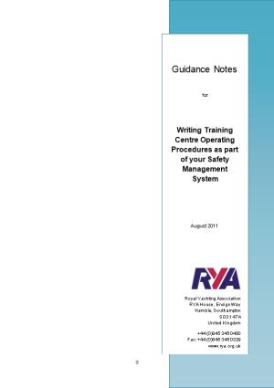 Rya Training Centre Paperwork 2