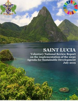 SAINT LUCIAVoluntary National Review Report