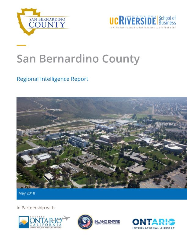 San Bernardino County Regional Intelligence Report