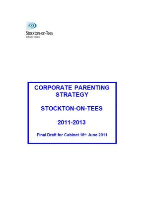 SBC Corporate Parenting Strategy Working Draft
