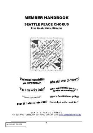 Seattle Peace Chorus