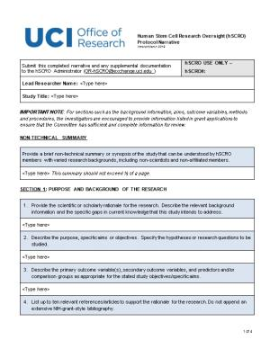 Section 1: Purpose and Background of the Research