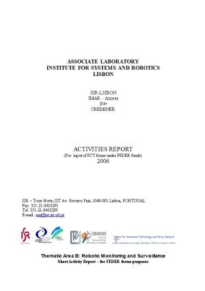 Short Activity Report 2006ISR-Lisbon Associate Laboratory