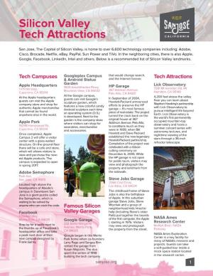 Silicon Valley Tech Attractions