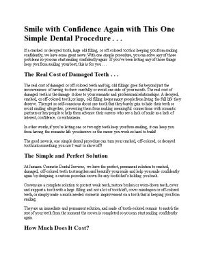 Smile with Confidenceagain with This One Simple Dental Procedure