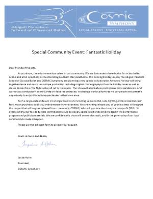 Special Community Event: Fantastic Holiday