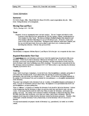 Spring, 1996Physics 321, Course Info and Schedulepage