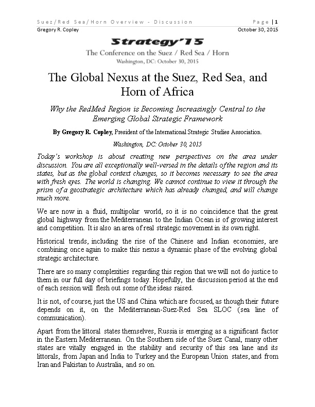 Suez/Red Sea/Horn Overview - Discussionpage 1