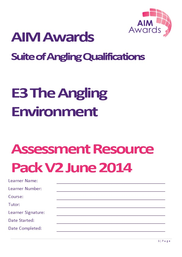 Suite of Angling Qualifications