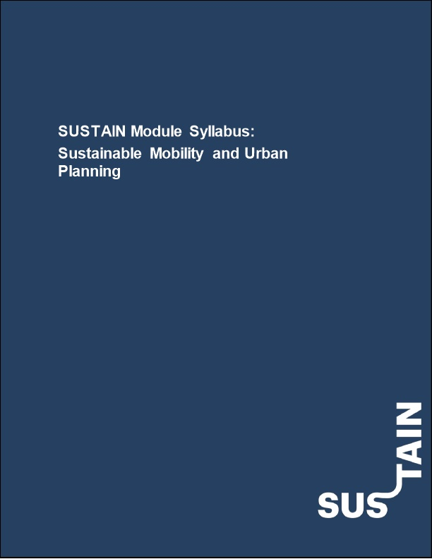 Sustainable Mobility and Urban Planning