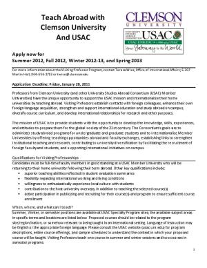 Teach Abroad with USAC
