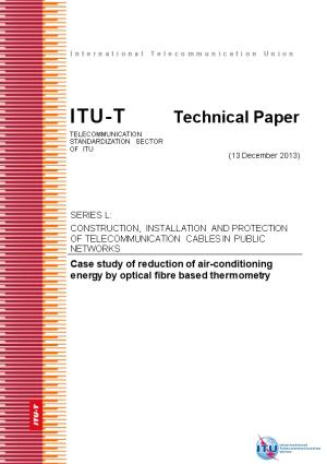 Technical Paper Case Study of Reduction of Air-Conditioning Energy by Optical Fiber Based
