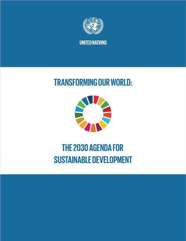 The 2030 Agenda for Sustainable Developments