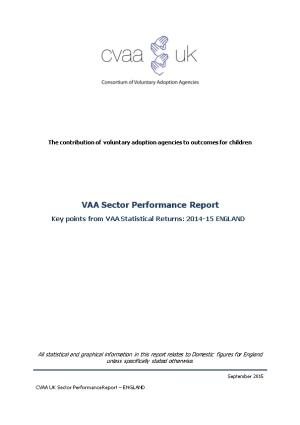 The Contribution of Voluntary Adoption Agencies to Outcomes for Children