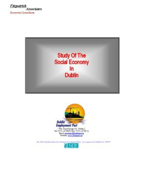The DEP Is Funded Under the National Development Plan. It Is Registered in Dublin No. 340167