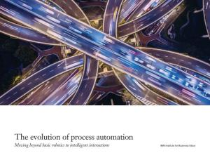 The Evolution of Process Automation