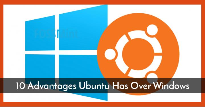 Advantages Ubuntu Has Over Windows