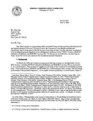 This Letter Responds to Correspondence Filed on Behalf of Jung on Jung Requesting That