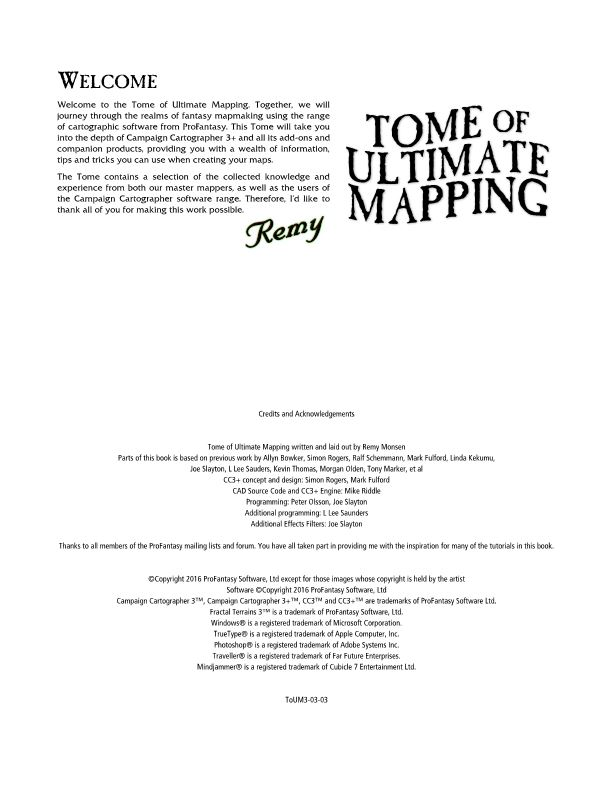 Tome of Ultimate Mapping